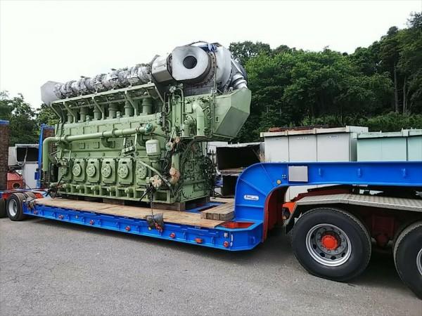 大型発電機 ダイハツ 6DK-36